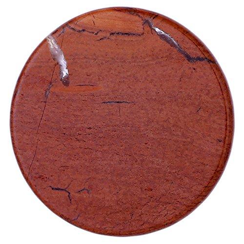 morella damen coin 33 mm edelstein roter jaspis chakren scheibe halsketten anhaenger und zur staerkung - Morella Damen Coin 33 mm Edelstein roter Jaspis Chakren Scheibe Halsketten-Anhänger und zur Stärkung